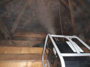 disinfection of loft space